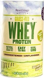 whey protein grass fed non gmo powder unflavored